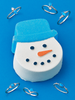 Snowman Bath Bomb - Blue Opal Ring Collection