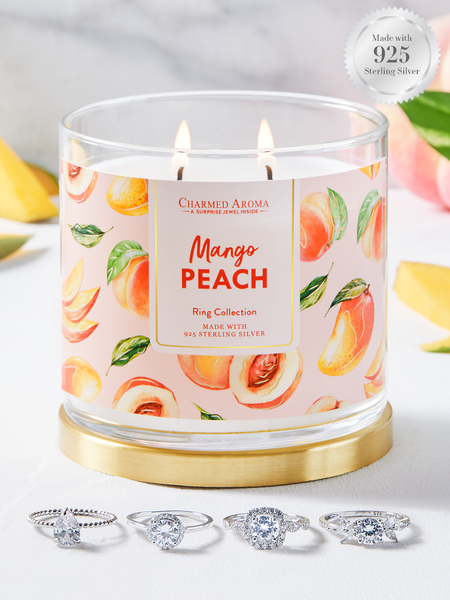 Mango Peach Candle - Classic Ring Collection