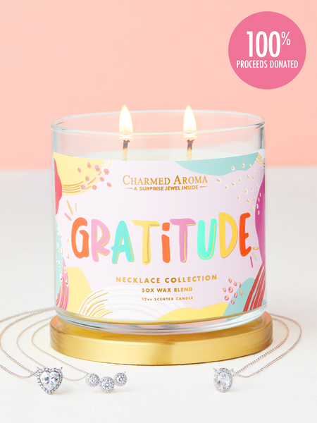 Gratitude Candle - Necklace Collection