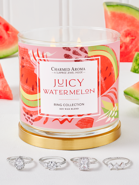 Juicy Watermelon Candle - Ring Collection