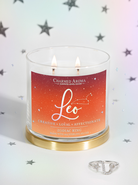 Leo Candle - Zodiac Ring Collection