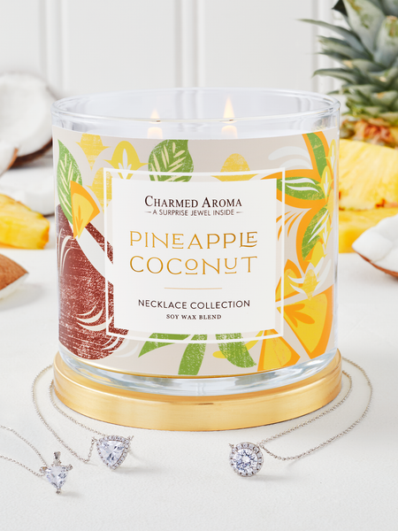 Pineapple Coconut Candle - Necklace Collection