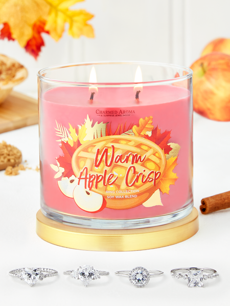 Warm Apple Crisp Candle - Ring Collection