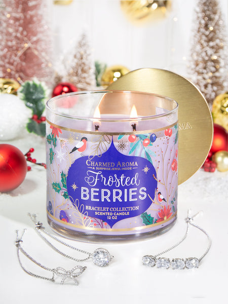 Frosted Berries Candle - Classic Bracelet Collection