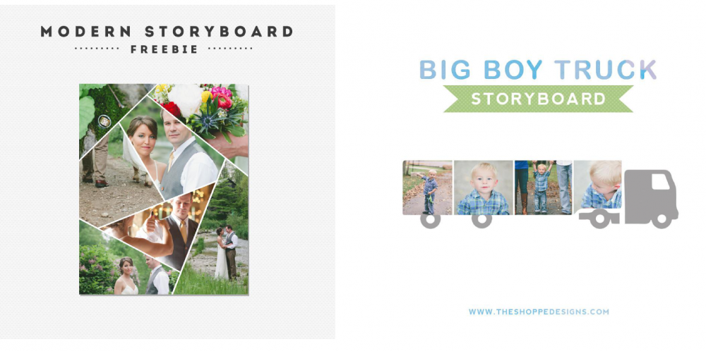 free photoshop templates, free photo collages, free storyboards, free templates for photographers