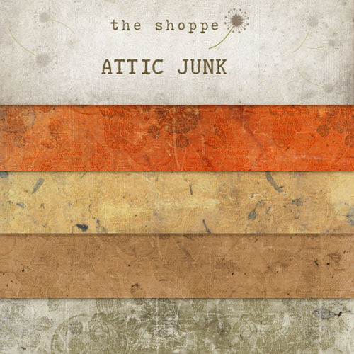 Attic Junk Textures for Photoshop