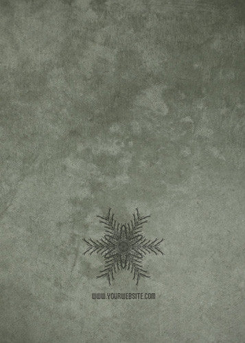 Snowflakes Two Holiday Card