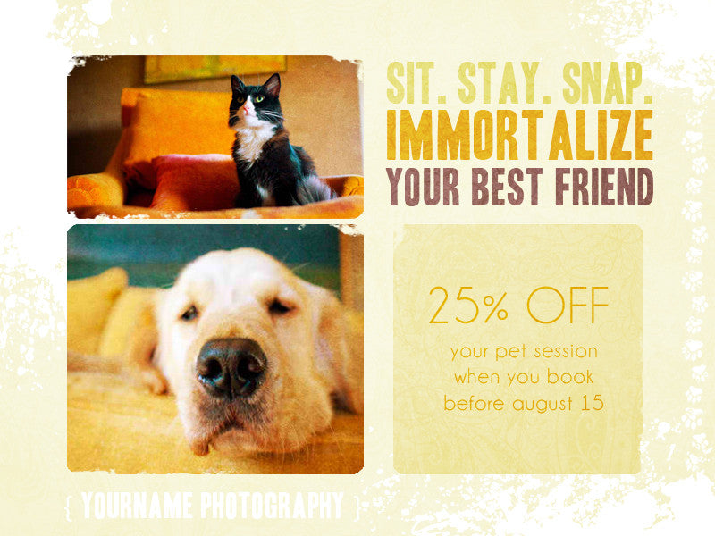 Sit. Stay. Snap. Email and Facebook Pet Marketing