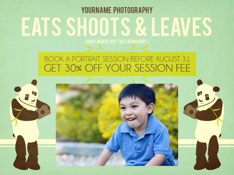 Children's Photography Email Template