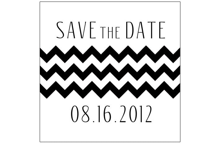Classic Chic Save the Dates