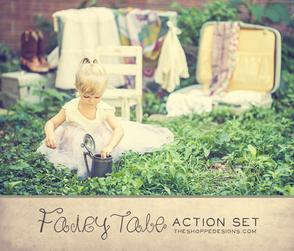 FAIRYTALE ACTION SET - PHOTOSHOP ACTIONS FOR CHILDREN'S PHOTOGRAPHY