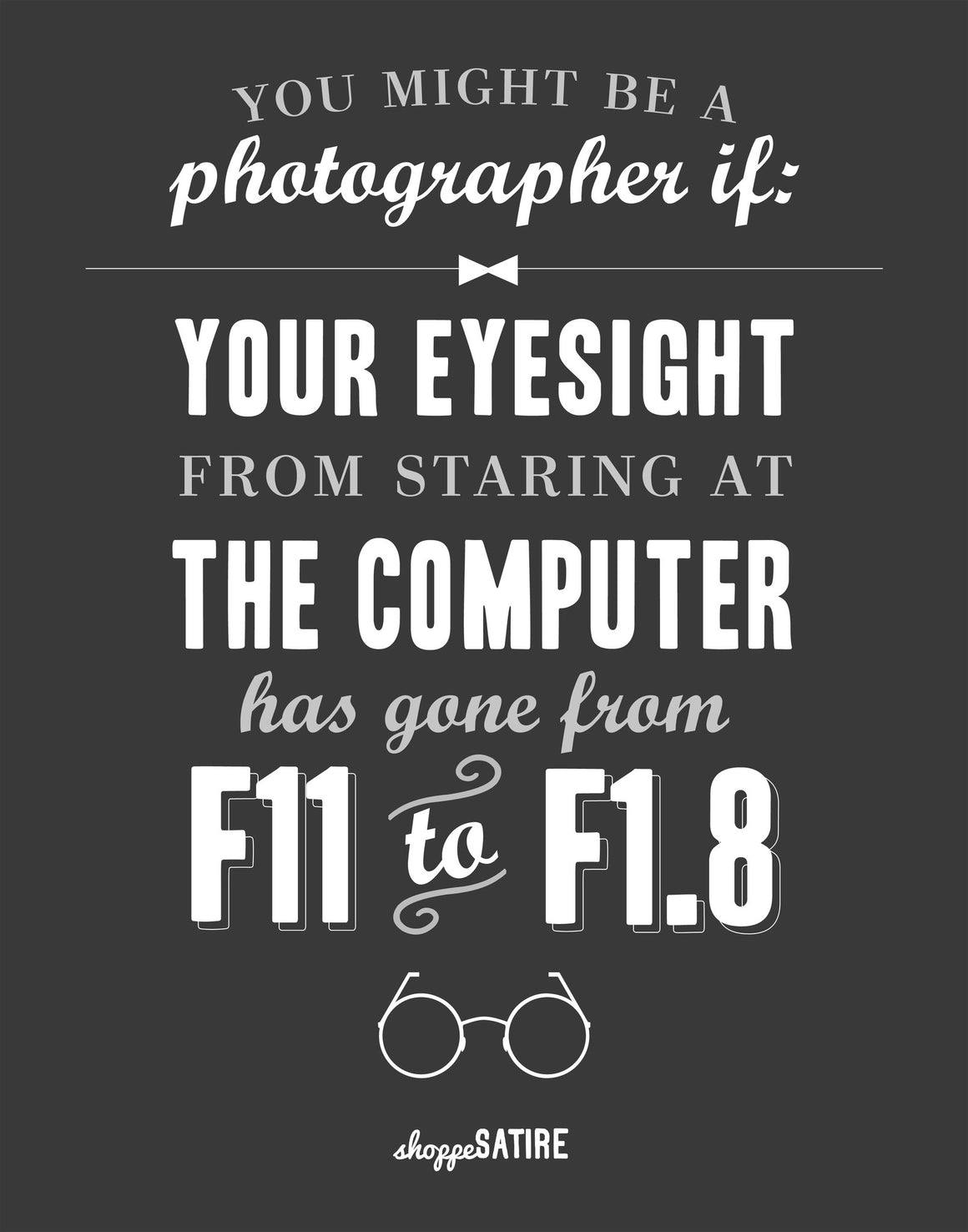 Shoppe Satire Printable ~ Eyesight