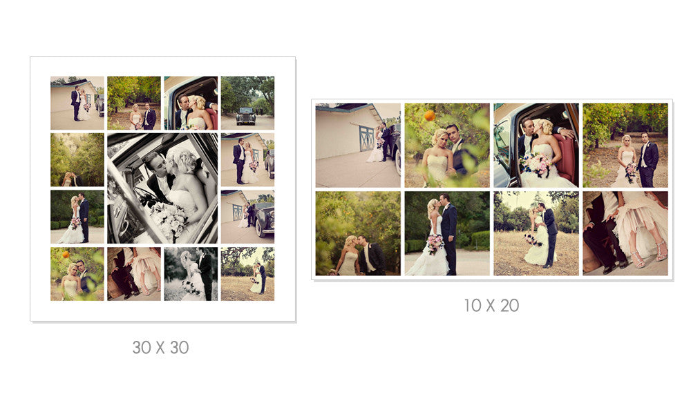 WHITE WEDDING STORYBOARD SET