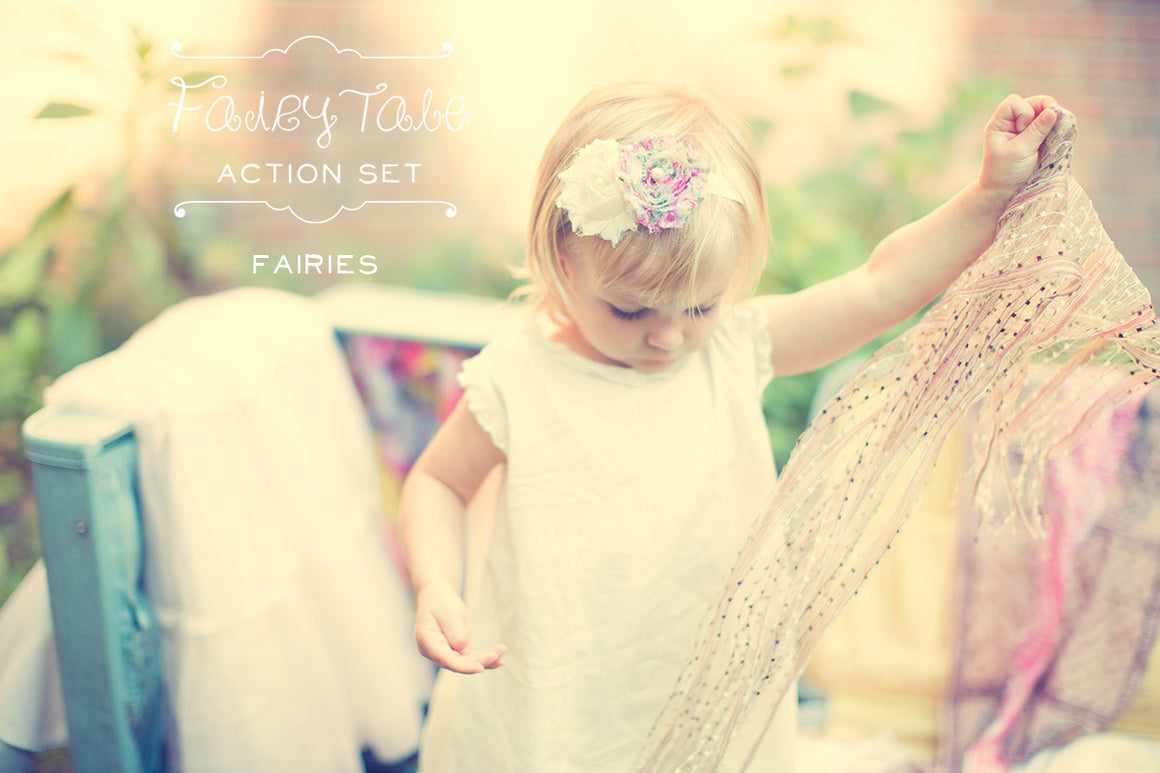 Photoshop Actions - FAIRIES Action Sample by The Shoppe