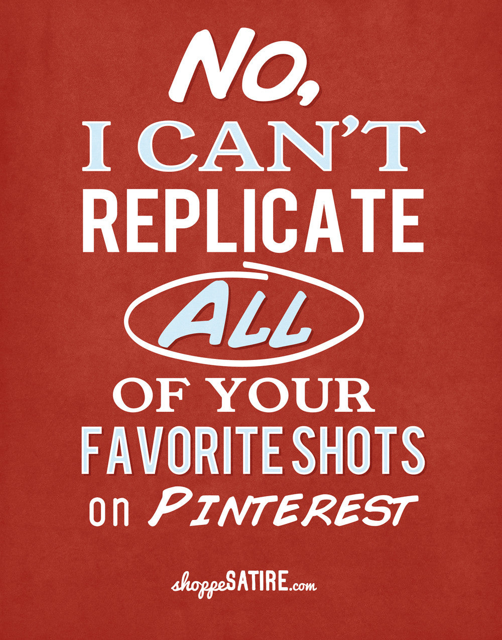The Shoppe Satire ~ Pinterest