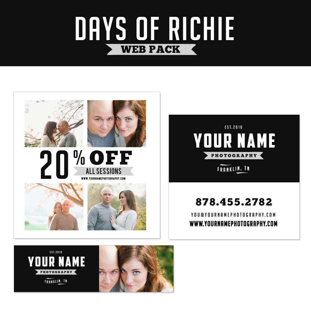 Days of Richie Web Pack