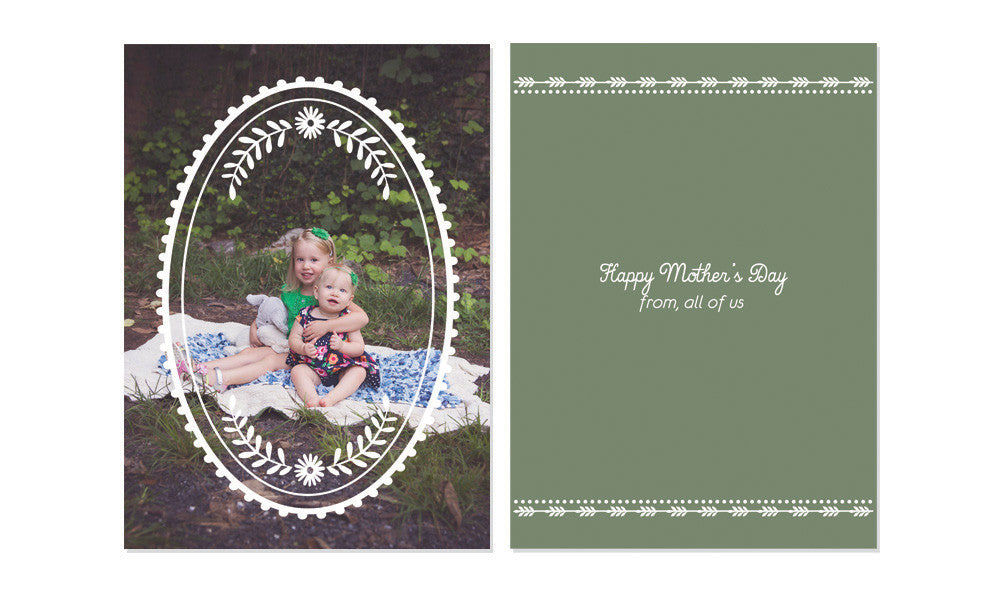 MOTHER'S DAY OVERLAY CARDS