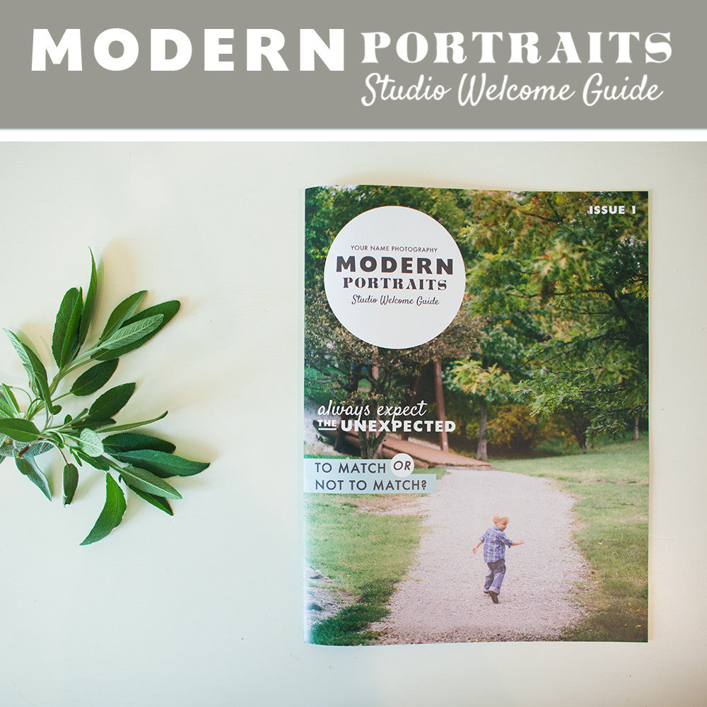 Modern Portraits Family Magazine