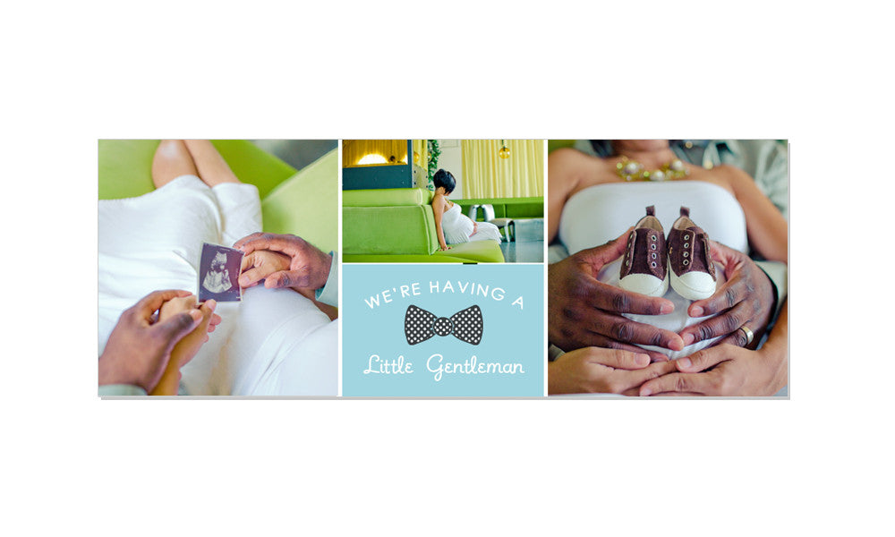 GENDER REVEAL PHOTO OVERLAYS