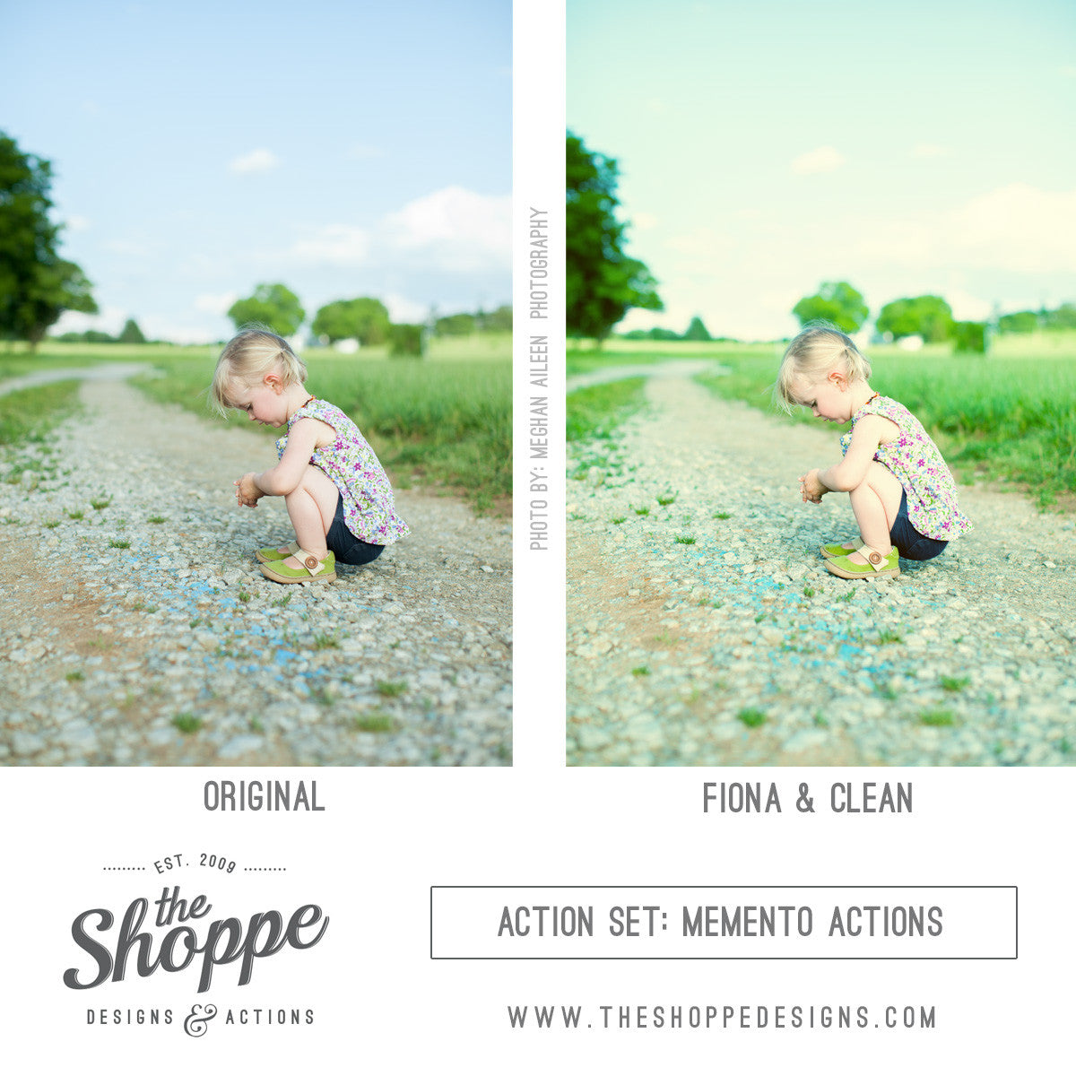 before and after actions free photoshop template the shoppe designs