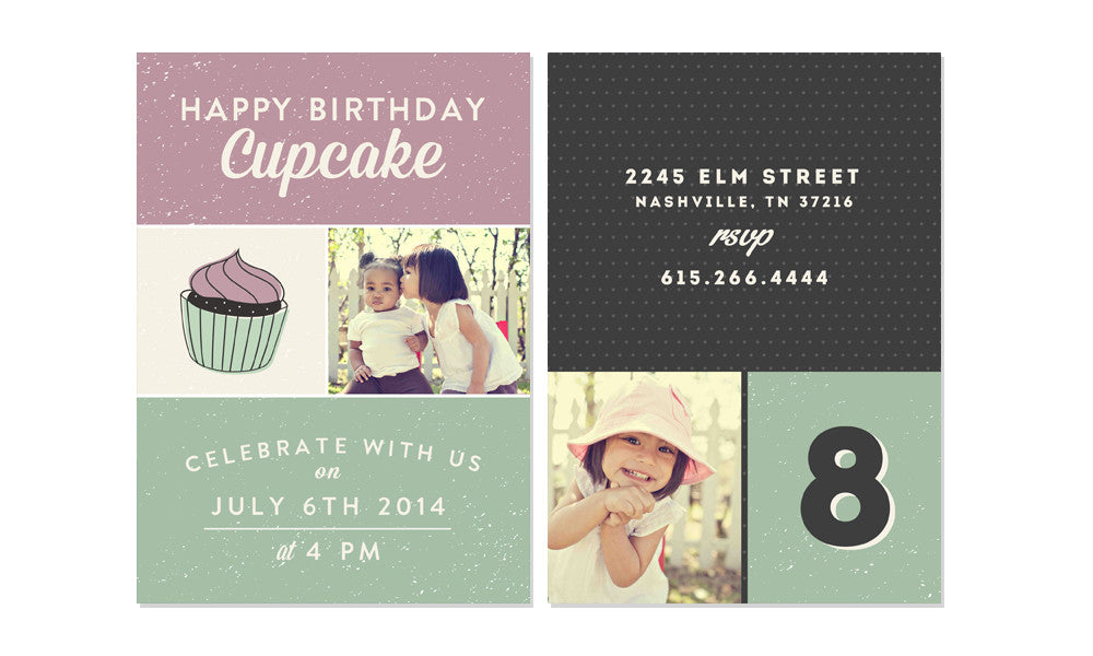 HAPPY BIRTHDAY KID INVITATION PHOTOSHOP TEMPLATES The Shoppe - Birthday invitation photoshop template