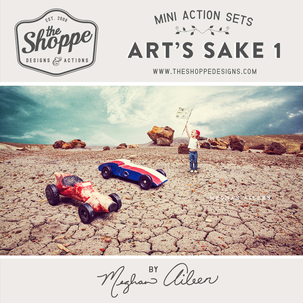 Mini Photoshop Action Set - Art's Sake 1 by Meghan Aileen