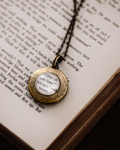 Book Page Locket - After All This Time? Always.