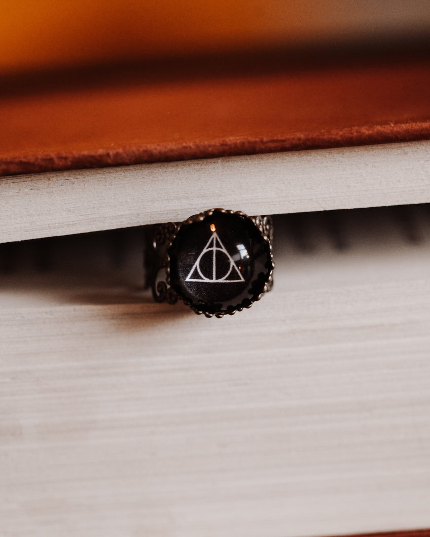 Hallows Adjustable Ring
