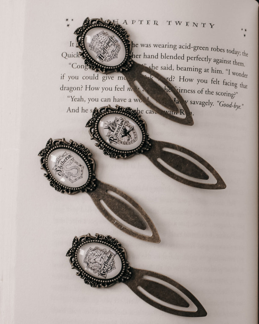 Raven House Crest Bookmark