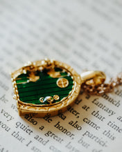 Little Green Door Necklace