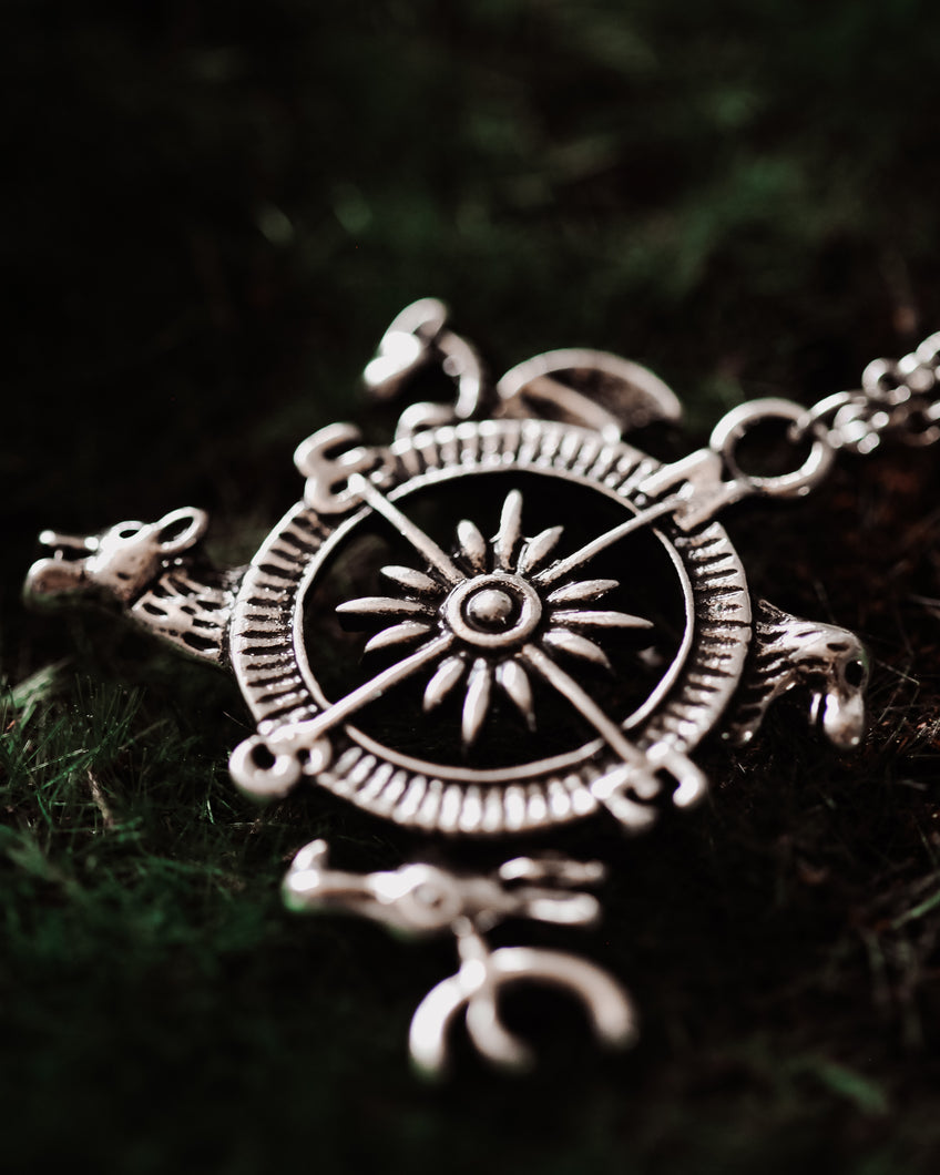 GoT Compass Necklace