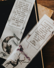Wizard Quote Semi Opaque Bookmark Set