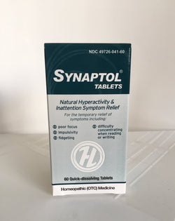 Synaptol (60 tablets) - Hyperactivity & Inattention. Homeopathic