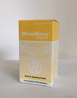 MoodBrite (60 tablets) Melancholy Mood Symptoms. Homeopathic