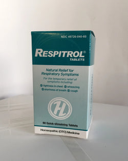 Respitrol (60 tabl). Respiratory defense. Homeopathic