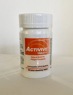 HelloLife Activive (60 tablets) Natural Fatigue Symptom Relief