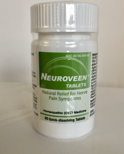 NEUROVEEN (60 tablets). Nerve Pain Symptom Relief. Homeopathic
