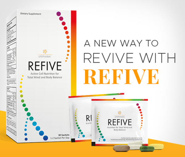 REFIVE (30 packets with all LifePharm products)