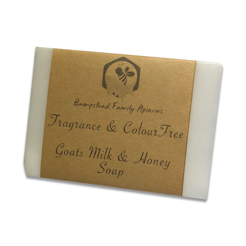 Fragrance and Colour Free - Goat's Milk and Honey Soap (110g)