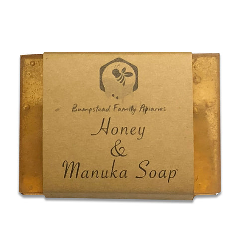 Honey and manuka soap. Handmade here in Kinglake VIC (near Melbourne)