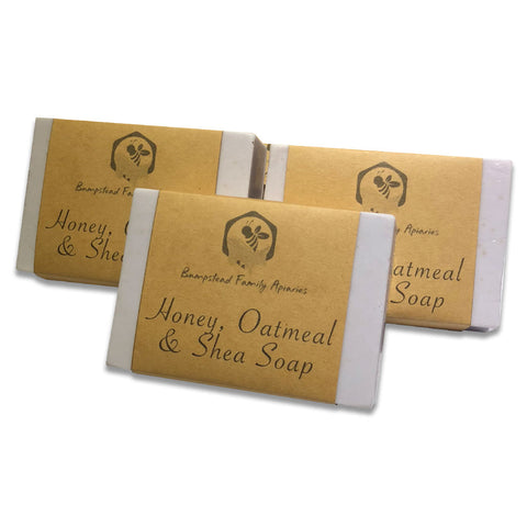 Lovingly handmade in Kinglake, just north of Melbourne. Oatmeal gives a wonderful exfoliating effect.