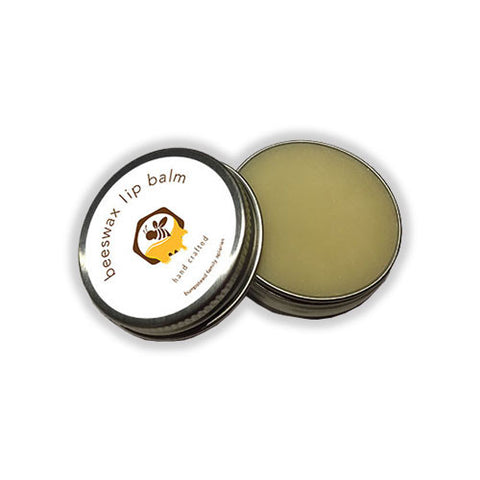 all natural beeswax lip balm no colours or flavours