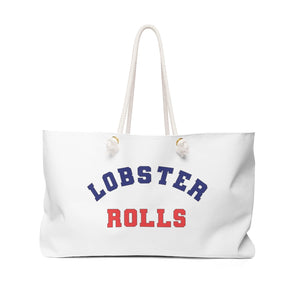 Open image in slideshow, Weekender Bag- Lobster Rolls - Just Madras