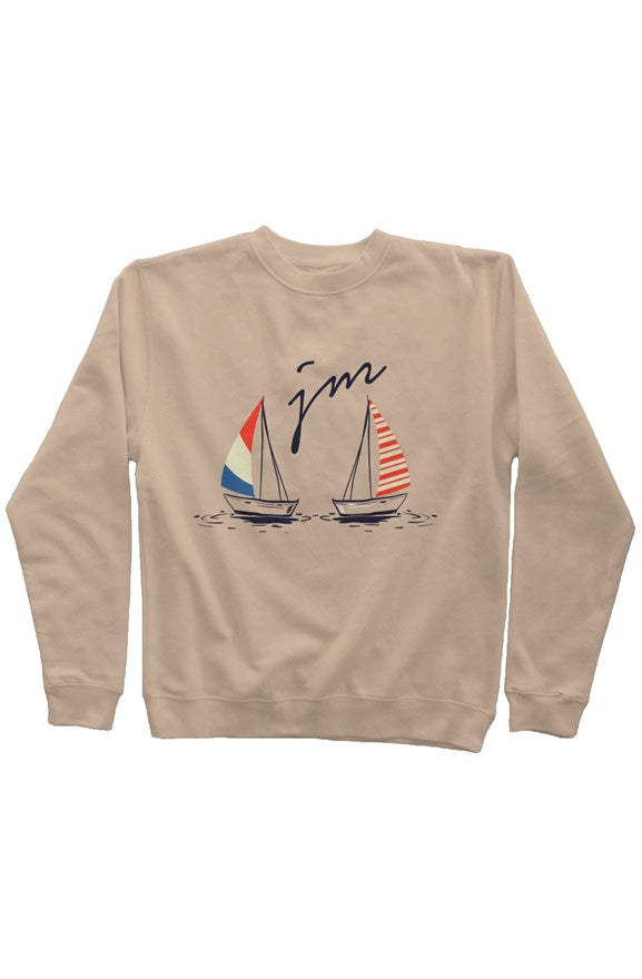 Classic Crew- JM Signature (Sand) - Just Madras
