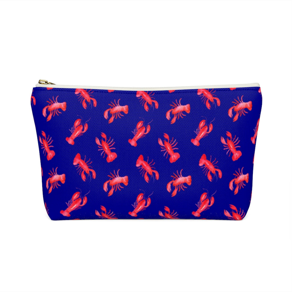 Accessory Pouch- Navy Lobster - Just Madras