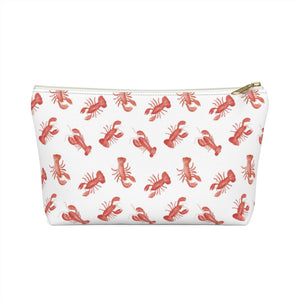 Open image in slideshow, Accessory Pouch- Lobster Print - Just Madras