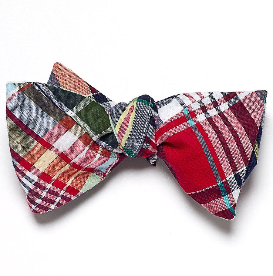 Patchwork Madras Bow Tie- Menemsha - Just Madras