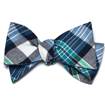 Madras Bow Tie- Newport - Just Madras