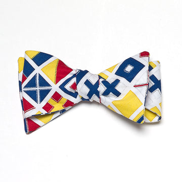 Signal Flag Bow Tie - Just Madras