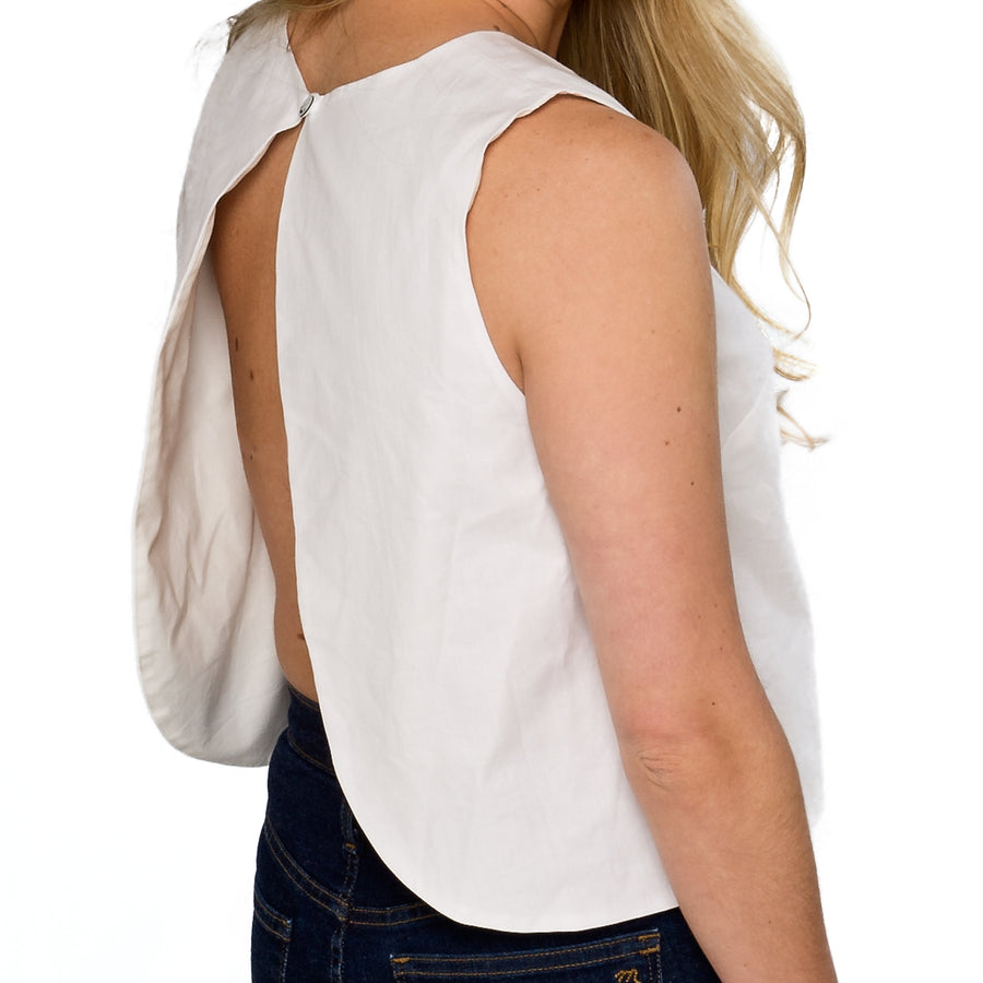 Annabelle Top- White